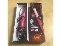 Hot 2 In 1 Hair Waves Curling Wand Roller Iron With Curl Or Straight Settings.
