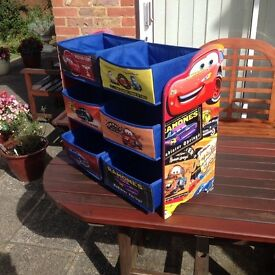 """""""Cars"""" themed toy box. £15"""