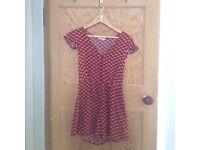 Miss Selfridges Patterned Jumpsuit - Size XS