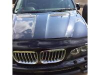 BMW X5 brand new bonnet wind deflector - dark smoke finish