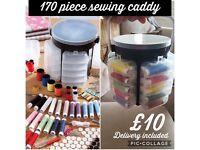 170 piece sewing caddy