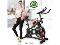 Exercise Bike Cycle - Fitness Workout Machine Gym Magnetic Trainer Cardio Gym Stationary