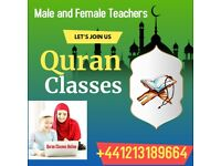 ONE - TWO - ONE Online and Home Quran Classes Male and Female Teachers Learn Quran