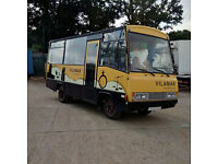 Left hand drive Toyota Dyna 300 6 tyres 20 seats bus.