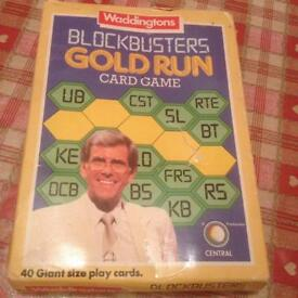 Blockbuster gold run card game