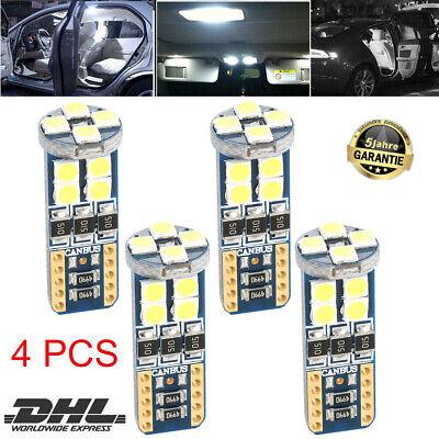 4x T10 LED SMD Standlicht Innenraum Lampe Weiß CANBUS für Mercedes W204 C Klasse