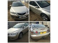 Mazda 6 Hatchback 1.8 S 2004 Silver Manual front bumper all parts available