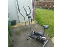 Body sculpture cross trainer.