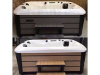 Brand New 3 Seat Hot Tubs with Twin Lounge Seats - MUST SEE!