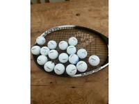 17 Titleist DT Trusoft golf balls
