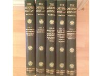 READERS DIGEST THE GARDENERS ASSISTANT x 5