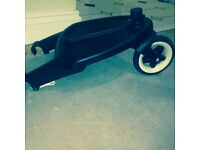 Bugaboo wheeled board with adapters
