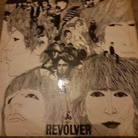 Rare beatles revolver 1st press mono