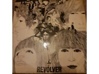 Rare beatles revolver 1st press mono