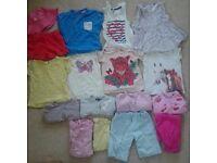 18-24m girls summer clothes bargain bundle