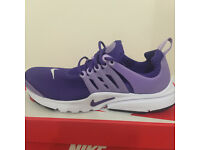Nike Presto, Size UK 5.5 - Purple