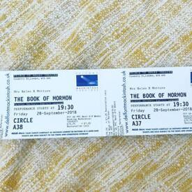 X2 The Book Of Mormon tickets - Fri 28th sept