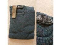 Brand new 100% Wool Jumpers, L & XL