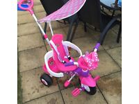 LIght Up & Singing Girls Minnie Mouse Trike