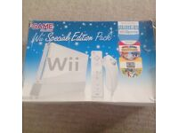 Nintendo Wii fit plus. Never used.