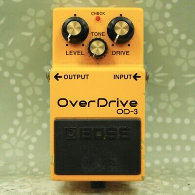 BOSS OD-3 Over Drive Guitar effect pedal (K5A4609)