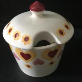 Emma Bridgewater hippy hearts sugar bowl