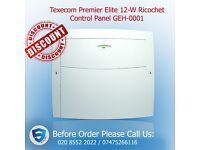Texecom Premier Elite 12-W Ricochet Control Panel GEH-0001- home alarm system in UK