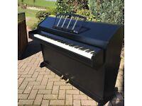 Eavestaff mini-piano Black  Belfast Pianos  
