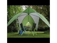 COLEMAN EVENT SHADE 3M X 3M NEW in CARRY BAG PICNICS OUTDOOR BEACH FESTIVALS BBQ,S PARTIES SUN