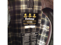 Barbour Border Jacket. Brand new. never worn