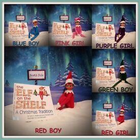 elf on the shelf bundle book doll elf door