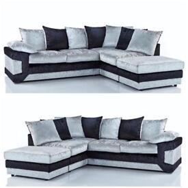 Amazing Quality Brand New Crushed Velvet Sofas