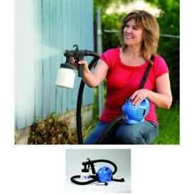 **£25** NEW BOXED PAINTING INDOOR OUTDOOR ELECTRIC PAINT SPRAYER FENCE SPRAY ZOOM GUN DIY TOOL HOME