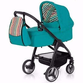 hauck rainbow travel system carry cot car seat parent and world facing seat unit changing bag etc