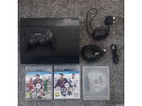 Playstation 3 Console with Fifa