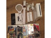 Wii, Controllers, Charging dock, Games