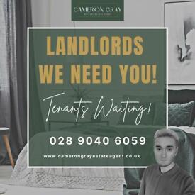 Landlords We Need You!