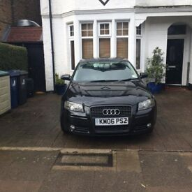 2006 - AUDI A3 - 1.6 - Special Edition - Black - £1200 or nearest offer