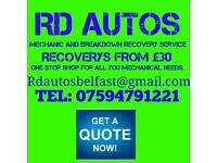 MOBILE MECHANIC AND BREAKDOWN RECOVER SERVICE.