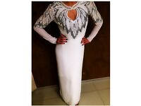 Evening Dress wedding red carpet Stunning beads all over