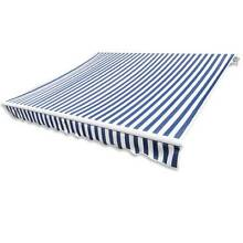 Awning Top Sunshade Canvas Blue & White 3 x 2,5m 160167 Mount Colah Hornsby Area Preview
