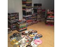 JOB LOT! 174 Boxed DVDs, 13 box sets, 11 Family Guy seasons and 28 un-boxed or copied.