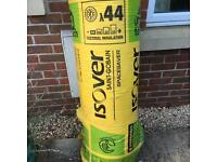 Roll of Isover Spacesaver loft insulation.