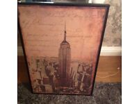 Big picture of empire states building on £15