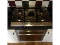 Stainless Steel Indesit inset Gas Hob