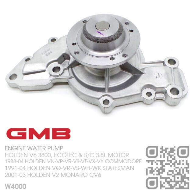 GMB WATER PUMP V6 ECOTEC 3.8L MOTOR [HOLDEN VS-VT-VX-VY COMMODORE/CALAIS]