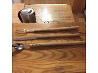 Au Nain PROFESSIONAL Barbeque BBQ set. AU NAIN. 60cm