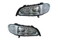 Scheinwerfer chrom rechts+links Set Satz Paar Klarglas Mitsubishi Carisma 99