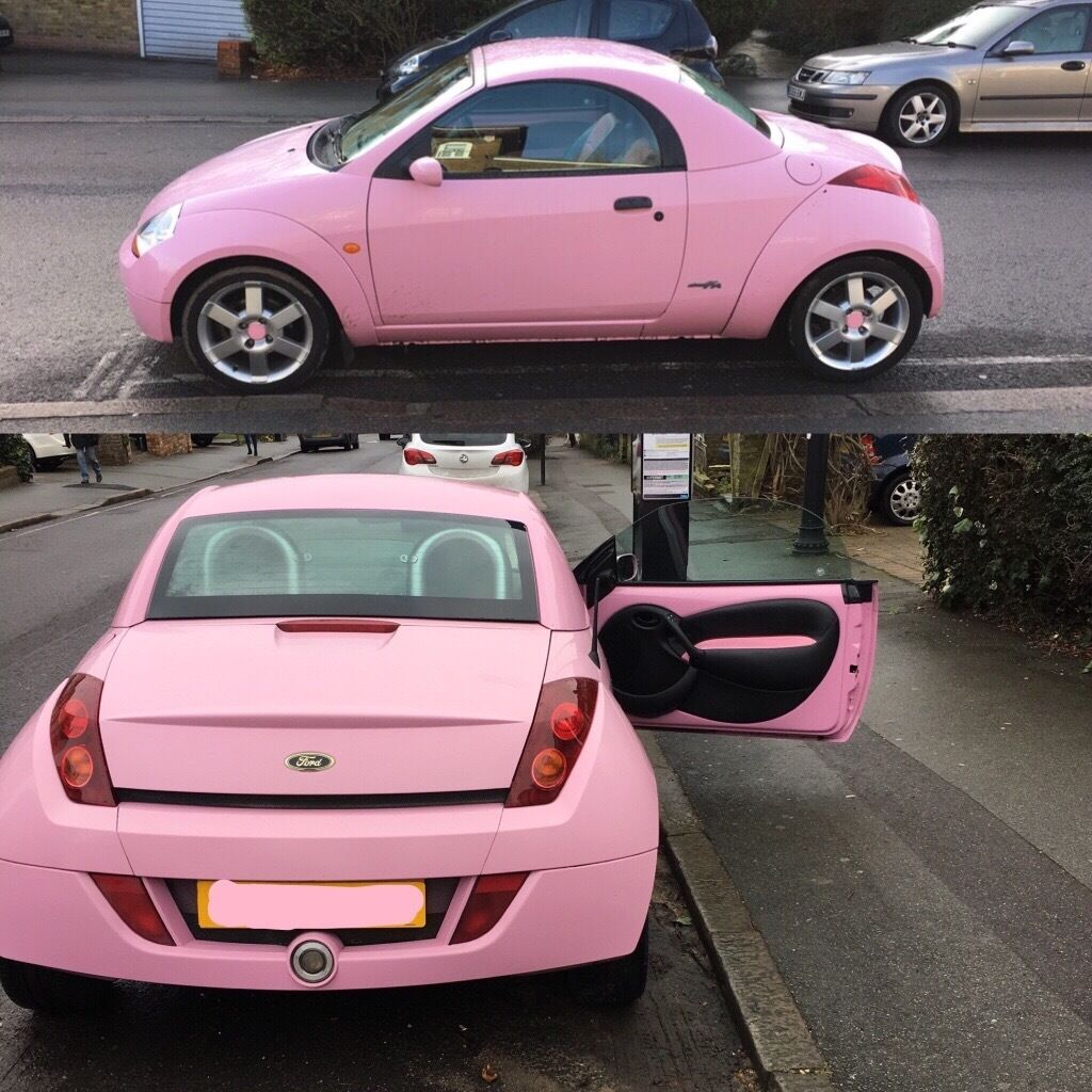 pink ford streetka winter edition in buckhurst hill essex gumtree. Black Bedroom Furniture Sets. Home Design Ideas