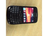 BlackBerry Curve 8520 - Black (Vodafone) Smartphone